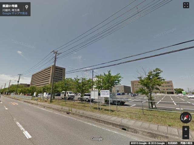川越市鴨田の埼玉医大総合医療センター