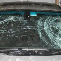 【報復】宇都宮 山健組内塩屋一家組員の車のガラスが割られる